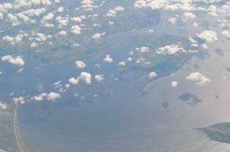 Denmark by sky