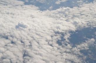 Fluffy little clouds