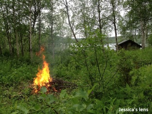 Stordalen bonfire