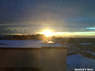 2012-11-07 Oslo sunset