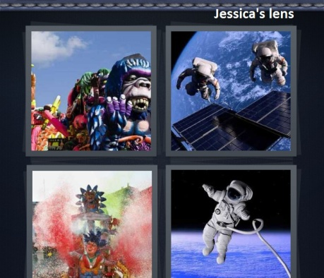 Playing a little 4 pics 1 word
