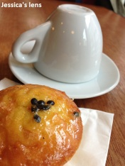 Cup and teacake